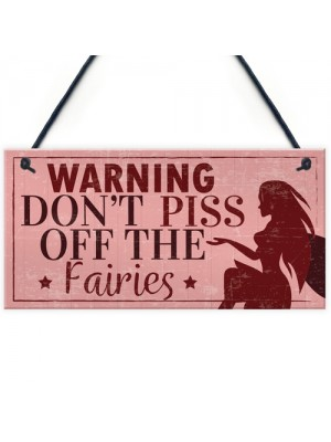 Warning Garden Sign Garden Shed Plaque SummerHouse Sign Gift