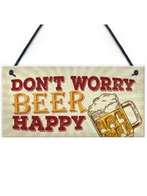 Rustic Beer Kitchen Pub Bar Sign Man Cave Alcohol Garden Plaque