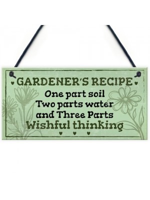 Garden Sign Summer House Plaque Garden Shed Gardening Gift