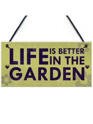 Outdoor Garden Sign SummerHouse Garden Shed Plaque Garden Gift