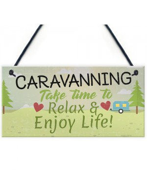 Caravan Sign Caravan Accessory Novelty Plaque Camping Sign