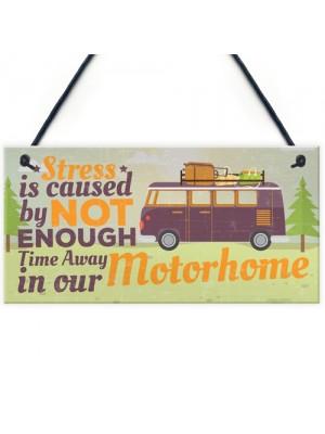 Motorhome Caravan Campervan Hanging Plaque Camping Gifts