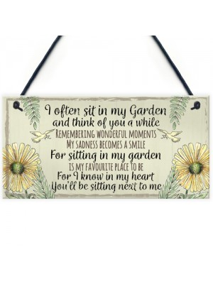 Garden Plaque Summer House Sign Garden Shed Friendship Mum Gift