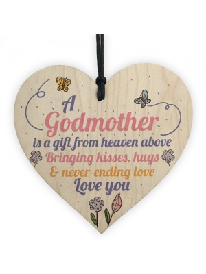 Godmother Asking Gift Thank You Sign Woos Heart Christening Gift