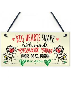 Teacher Leaving Gift Nursery Wall Plaque Childminder Thank You