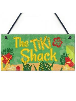 Tiki Shack Hanging Bar Plaque Beer Cocktail Beach Friend GIFT