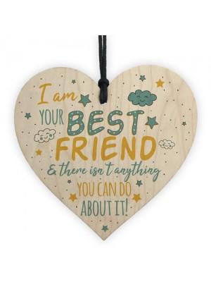 Best FRIEND Christmas Gift For Girls Heart Funny Friendship Gift