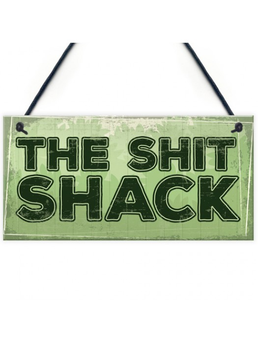 Garden Shed Sign SummerHouse Novelty Hanging Plaque Friend Gift