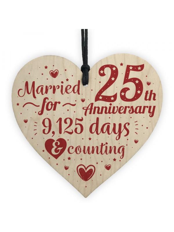 25th Wedding Anniversary Gifts Silver Twenty Five Years Gift