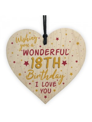 18th Birthday Card For Daughter Best Friend Sister Gifts Heart