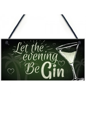 Funny Gin Sign Alcohol Plaque Garden Shed Home Bar Kitchen GIFTS