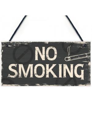 No Smoking Area Hanging Sign Hotel Garden Pub Bar Door Wall Sign