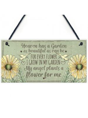 Memorial Garden Plaque SummerHouse Sign Garden Shed Mum Gift
