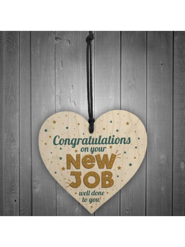 Congratulations New Job Leaving Gift Boss Friend Colleagues Sign