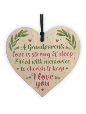 Gifts For Grandad Nan Mum Dad Mummy Daddy Gifts Wooden Heart