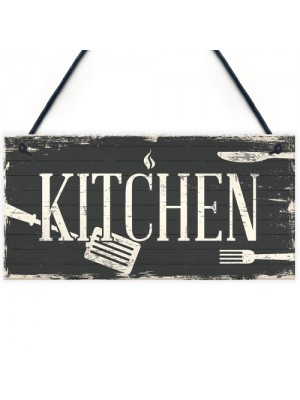 Shabby Chic Kitchen Wall Decor Door Plaque Sign Beer Vodka Gifts