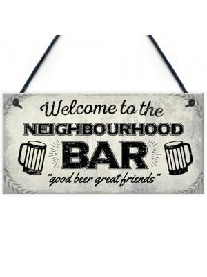 Beer Vodka Gin Sign Pub Home Bar Gift Man Cave Shed Garden Gift