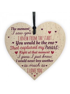 Wedding Anniversary Gifts 1st 2nd 3rd Anniversary Heart Sign