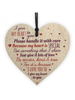 1st Wedding Anniversary Gift Heart Girl Boyfriend Wife Gifts