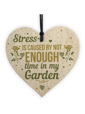 Funny Garden Sign Wooden Heart Shed Sign Plaque Friendship Gift