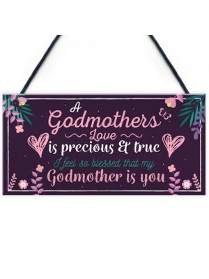 Godmother Thank You Keepsake Christening Godparent Friend Gifts