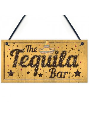Shabby Chic The Tequila Bar Garden Home Bar Shed Pub Plaque