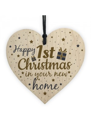 Happy First Christmas In Your New Home Christmas Decoration