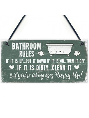 Nautical Bathroom Sign Funny Quirky Toilet Loo Door Wall Plaque