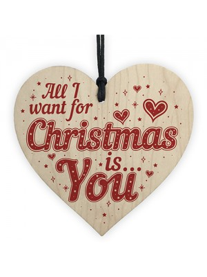 All I Want For Christmas Is Heart Husband Wife Boy Girl Friend