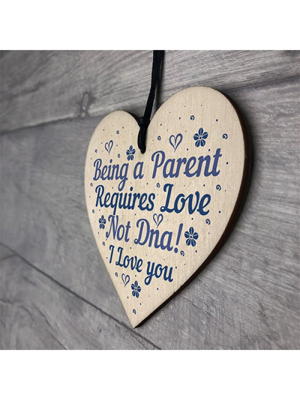 Step Mum Step Dad Plaque Foster Parent Thank You Family Signs