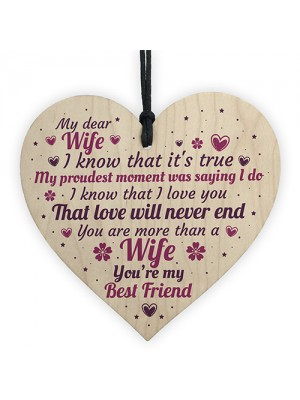 Anniversary Card Wife Gifts For Him 1st 2nd 3rd 4th Wedding Idea