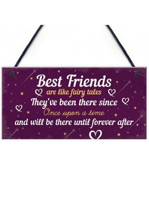 Birthday Gift For Best Friend Hanging Plaque Christmas Card Gift