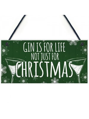 Secret Santa Gifts Funny Gin Gift Novelty Christmas Tree Bauble