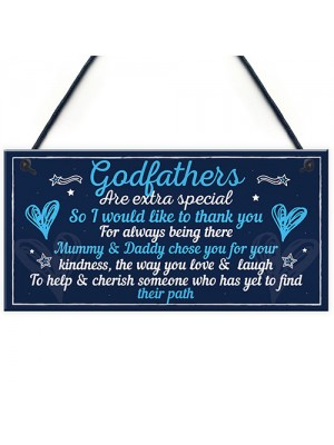 Godfather Gifts For Christmas Godparent Christening Gifts Sign