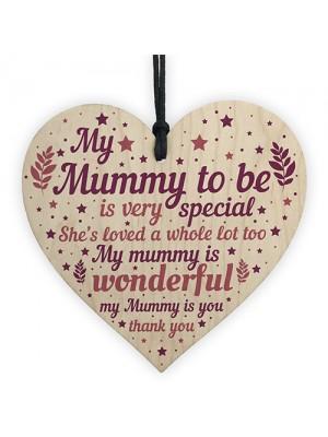 Mummy Heart Mothers Day New Mummy Mum To Be Gift Baby Shower