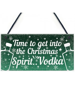 Bar Sign For Home Bar Plaque Vodka Gifts For Her Him Funny Gifts