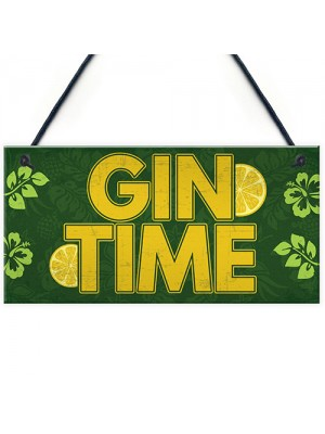 Handmade Plaque Gift For Gin Lovers Novelty Funny Birthday Gift