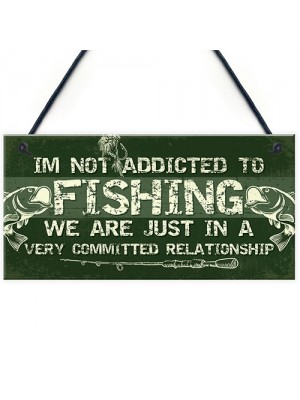 Funny Fishing Gifts Plaque Perfect Birthday Christmas Gifts For