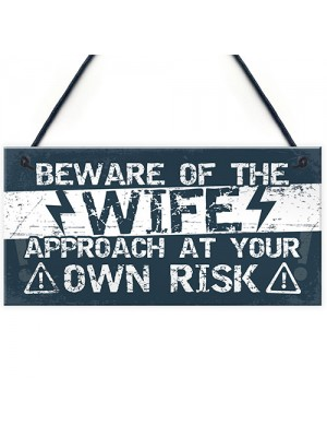 Funny Gifts For Husband From Wife Plaque Anniversary Christmas