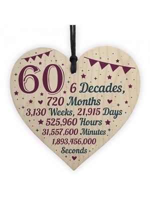 60th Birthday Christmas Gifts For Grandparents Mum Dad Nan