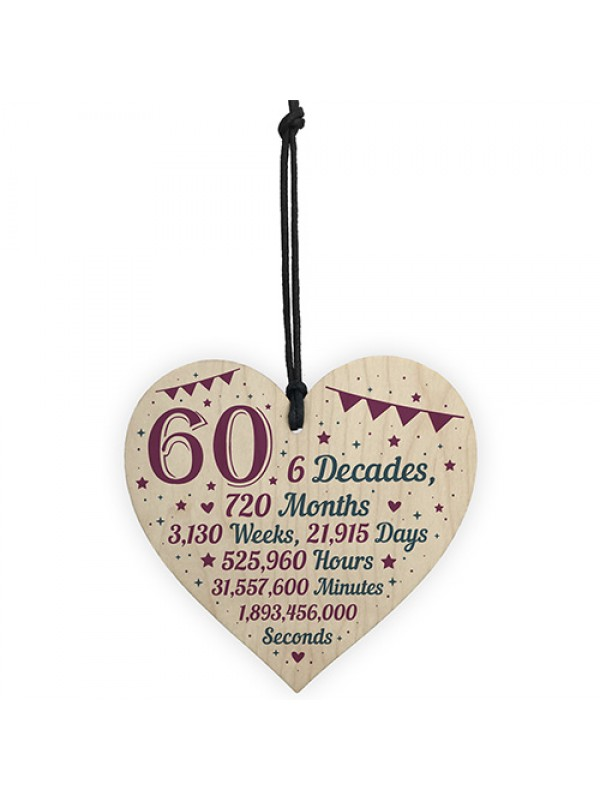 60th Birthday Christmas Gifts For Grandparents Mum Dad Nan