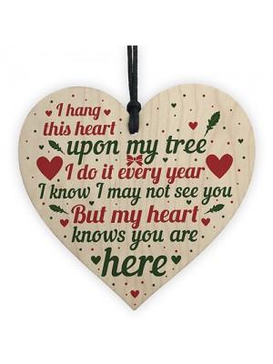 Christmas Tree Memorial Mum Nan Dad Grandad  Ornament Plaque