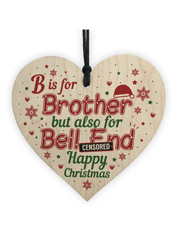 Home Furniture Diy Other Celebrations Occasions Funny Brother Gift Hanging Plaque Novelty Brother Birthday Christmas Gifts Mtmstudioclub Com