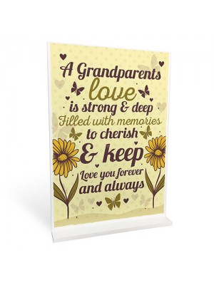 Grandparents Christmas Gifts Meaning Standing Plaque Grandma