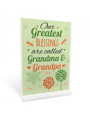 Great Grandparent Grandma Grandpa Birthday Christmas Gift Plaque