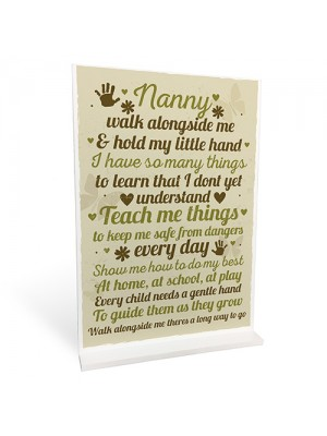 Gifts For Nan Standing Plaque Grandparent Gift Keepsake