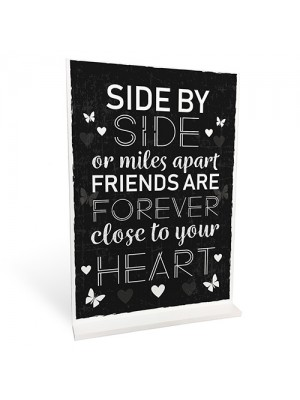 BEST FRIEND Standing Plaque Friendship Sign Birthday Gift Friend