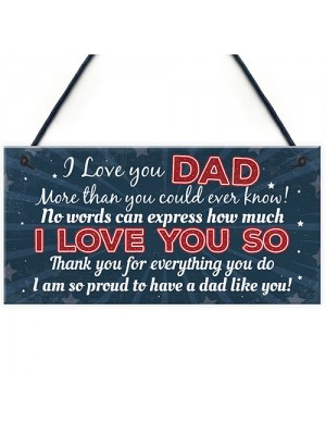 FATHERS DAY Birthday Christmas Gift For Dad Gift From Daughter
