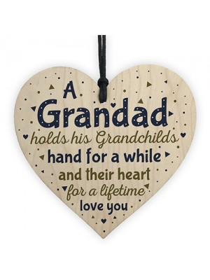 Grandad Ornament Keepsake Birthday Christmas Gift From Grandson