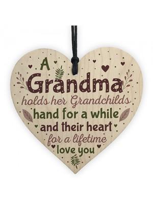 Grandma Keepsake Grandma Birthday Christmas Gift From Grandson